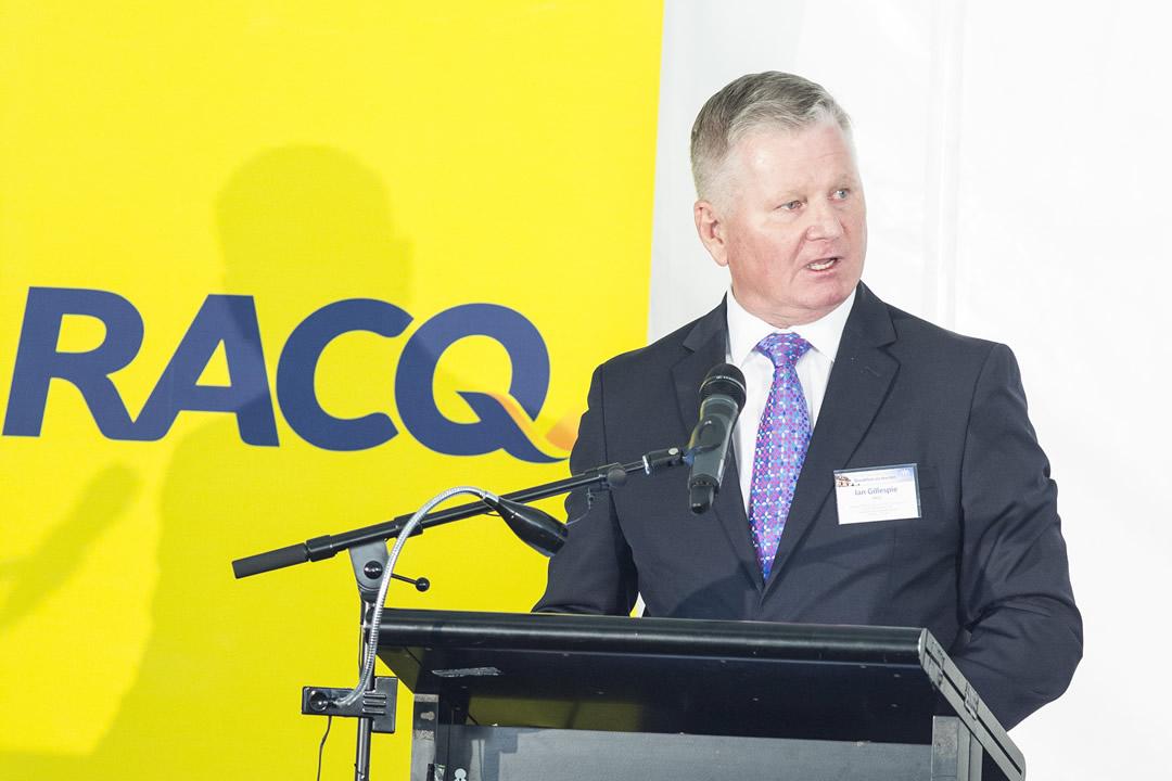 Ian Gillespie, CEO, RACQ (Photographer: Chris Gleisner)